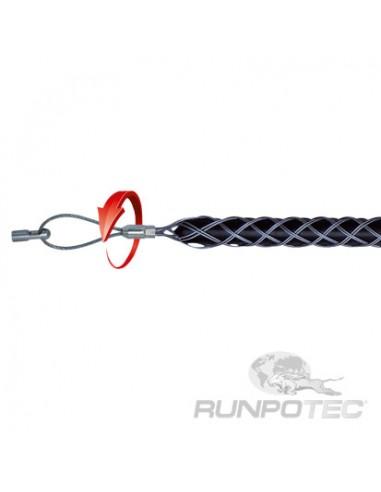 Метален чорап за изтегляне на кабели с диаметър 15-19 мм, еднопроходен RUNPOTEC GmbH - 1