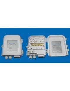 Outdoor termination box - 12 SC simplex adapters  MegaF - 1