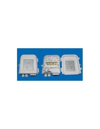 Outdoor termination box - 12 SC simplex adapters  MegaF - 1