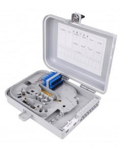 Оптична кутия за 12 SC LC адаптера