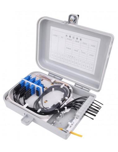 Оптична стенна кутия за 16 SC адаптера