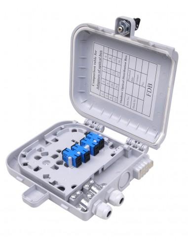FTTH оптична кутия за 8 SC симплексни адаптера MegaF - 1