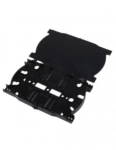 Splice tray for 12 optical fibers,...