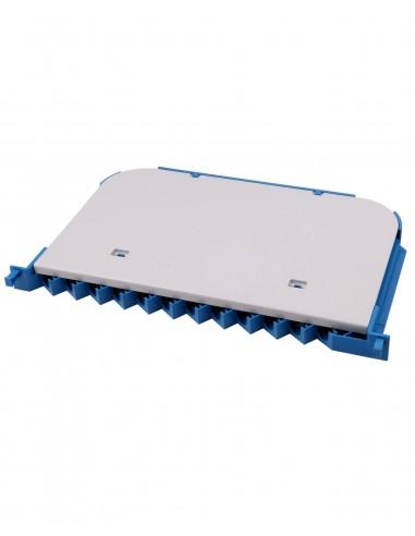 Fiber optic panel for upto 12 adapters MegaF - 1