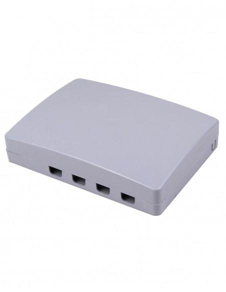 FTTH оптична кутия - розетка за 4 SC адаптера