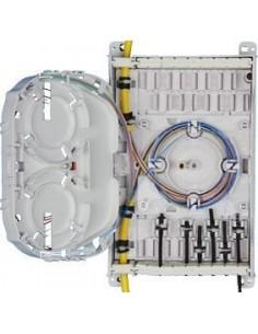Fiber optic box for 12 splices
