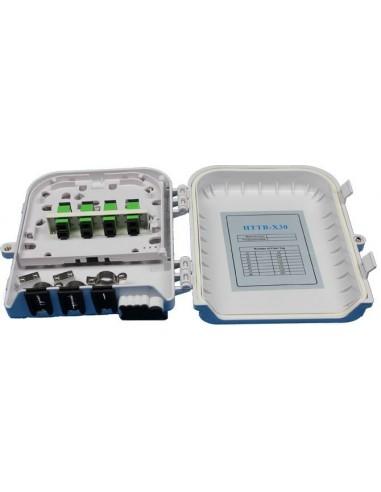 Оптична кутия за 8 SC симплексни адаптера IP54 MegaF - 1