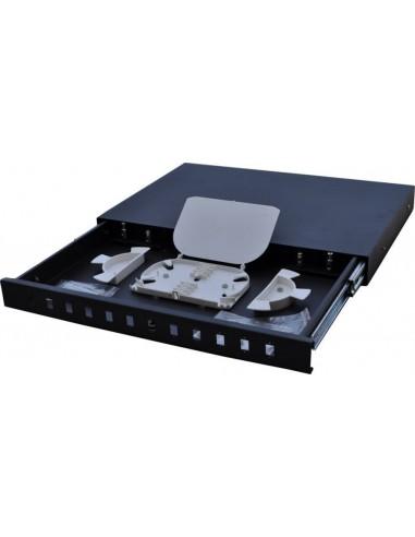 Оптичен пач панел ODF за 12 SC симплексни адаптера, незареден, изтеглящ се MegaF - 1