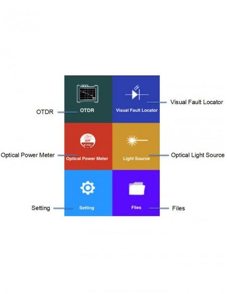 Smart OTDR + VFL + OPM + OLS  - 2