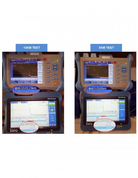 Оптичен рефлектометър OTDR 32/30dB (1310nm/1550nm) + VFL  - 6