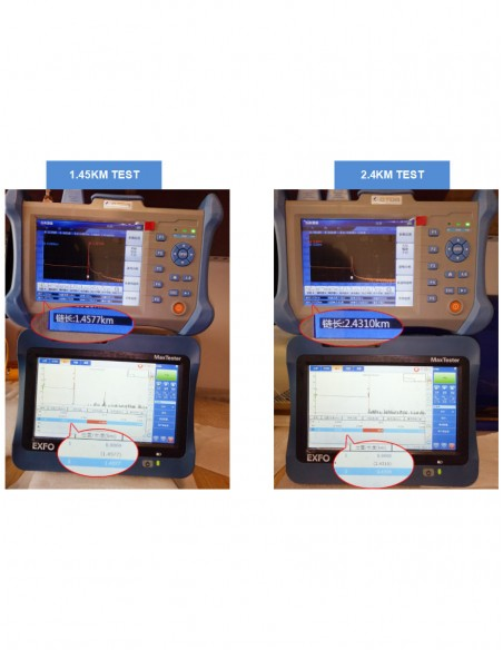 Оптичен рефлектометър OTDR 32/30dB (1310nm/1550nm) + VFL  - 7