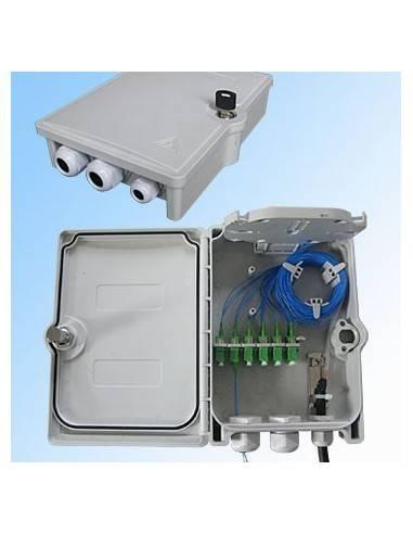 Оптична кутия за 6 SC дуплексни адаптера, IP65 MegaF - 1