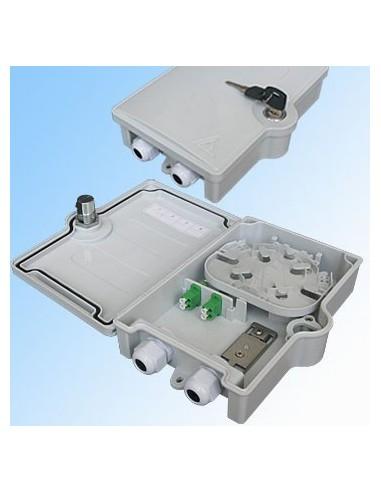 Оптична кутия за 2 SC симплексни адаптера, IP65 MegaF - 1