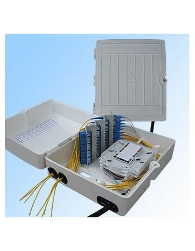 Оптична кутия за 32 SC симплексни адаптера MegaF - 1