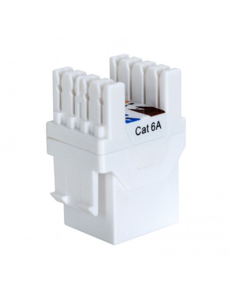 Category 6A unshielded keystone jacks - 180 degrees Linkbasic - 2