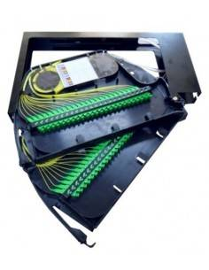 Fiber optic patch panel for...
