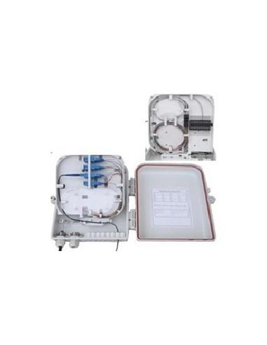 Стенна оптична кутия за 16 SC симплекни адаптера MegaF - 1