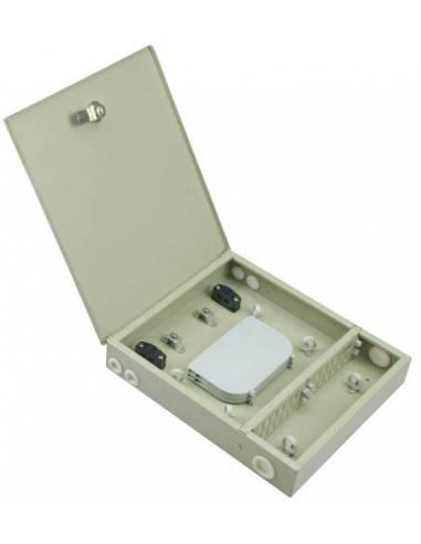 Fiber optic distribution box for 48...