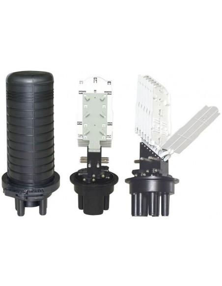 Оптична муфа за 24 влакна /максимум 144 влакна/ MegaF - 1