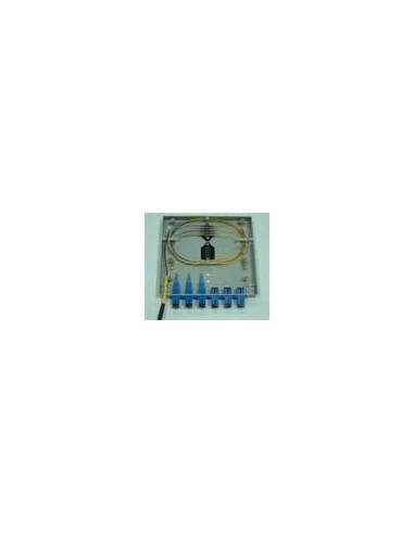 Оптична кутия - 6 SC симплексни адаптера MegaF - 1