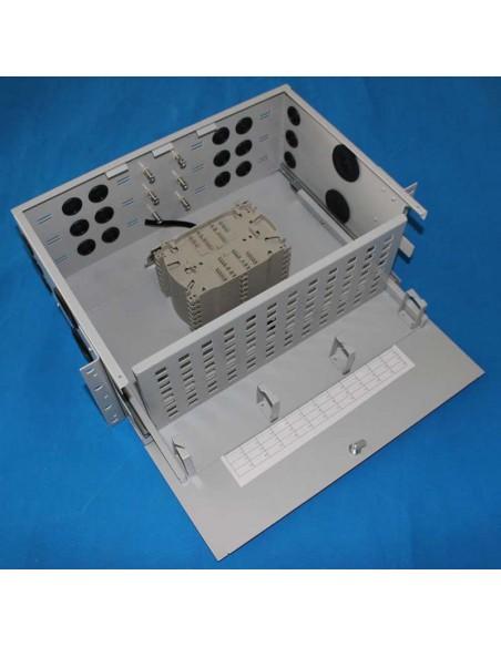 Оптичен пач панел ODF за 96 SC симплексни адаптера, незареден, изтеглящ се MegaF - 1