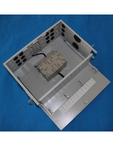Оптичен пач панел ODF за 96 SC симплексни адаптера, незареден, изтеглящ се MegaF - 2
