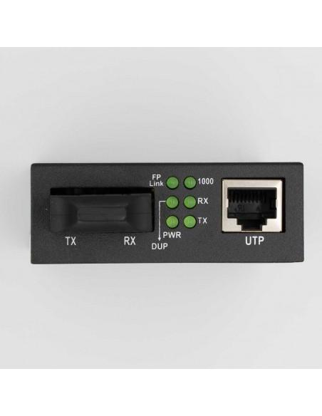 Gigabit media converter 1000M multi mode dual fiber - 2 km, ICB  - 2