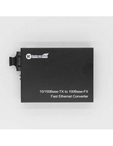 Media converter, Multi mode, Dual fiber, 10/100M, 1310 nm, 2 km  - 1