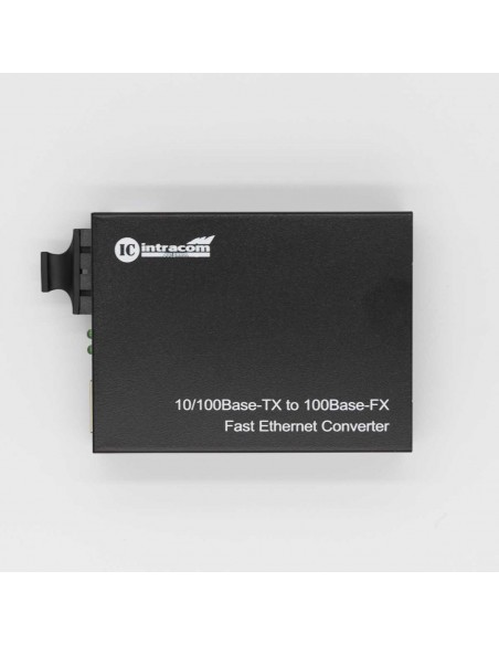 Медиа конвертор, Мулти мод, две влакна, 10/100M, 1310 nm, 2 км  - 1