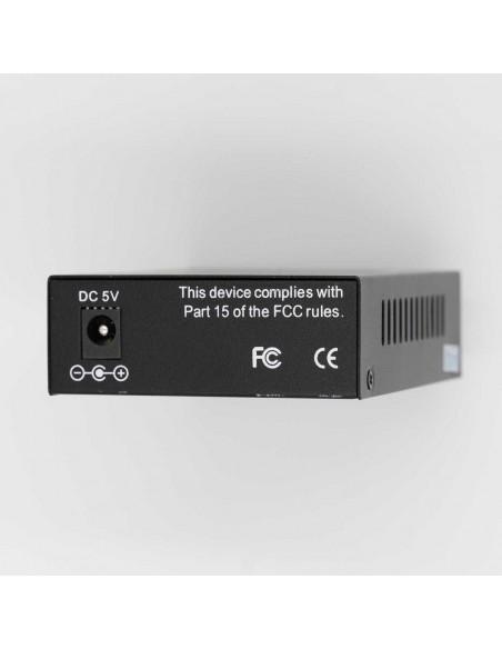 Media converter 10/100M Single mode dual fiber - 20 km, ICB  - 2