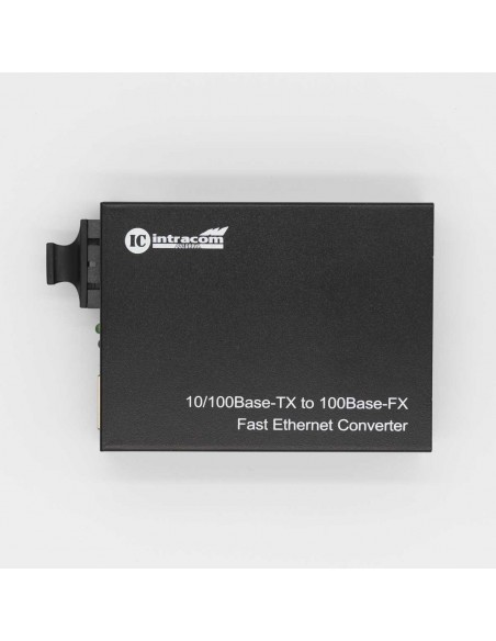 Media converter 10/100M Single mode dual fiber - 20 km, ICB  - 4