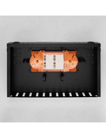 Fiber optic patch panel ODF for 12 SC duplex adapters, unloaded MegaF - 2