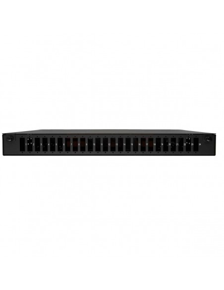 Fiber optic patch panel ODF for 24 SC duplex adapters, unloaded MegaF - 1