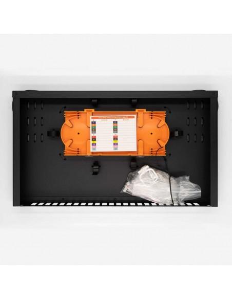 Оптичен пач панел ODF за 24 SC дуплексни адаптера, незареден MegaF - 3