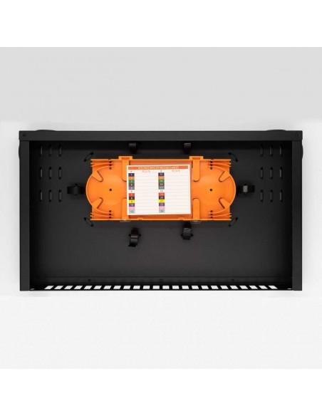 Оптичен пач панел ODF за 24 SC дуплексни адаптера, незареден MegaF - 4