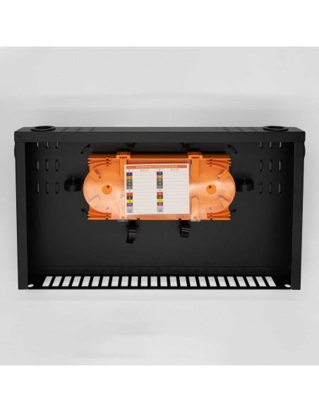 Оптичен пач панел ODF за 24 SC дуплексни адаптера, незареден MegaF - 6