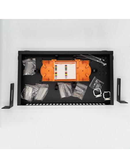 Оптичен пач панел ODF за 24 SC дуплексни адаптера, незареден MegaF - 2