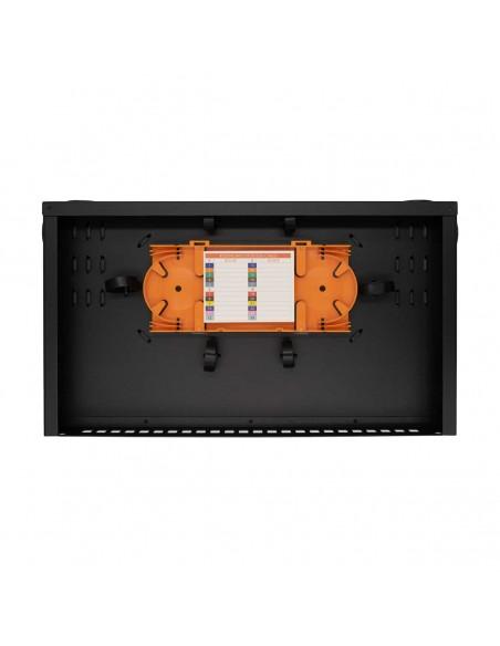 Оптичен пач панел ODF за 24 SC симплексни адаптера, незареден MegaF - 2