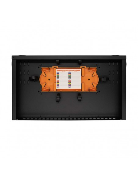 Fiber optic patch panel ODF for 24 SC simplex adapters, unloaded MegaF - 2