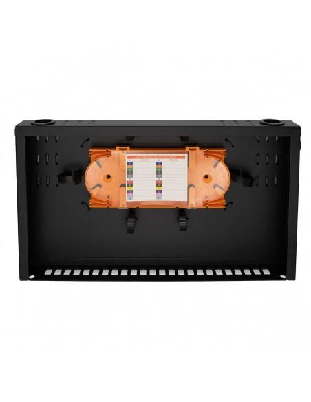 Оптичен пач панел ODF за 24 SC симплексни адаптера, незареден MegaF - 3