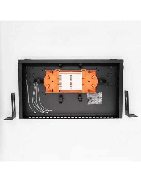 Оптичен пач панел ODF за 24 SC симплексни адаптера, незареден MegaF - 4