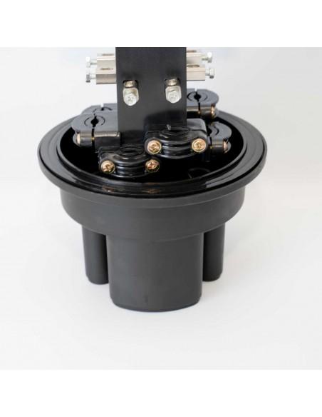 Оптична муфа за 24 влакна /максимум 144 влакна/ MegaF - 2