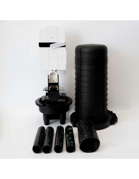 Оптична муфа за 24 влакна /максимум 144 влакна/ MegaF - 4
