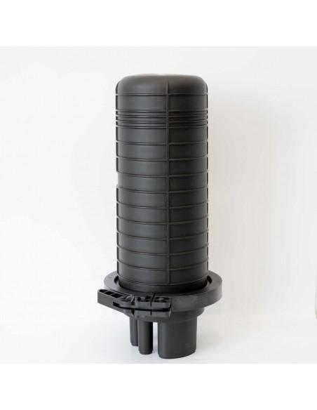 Heat Shrink Dome Closure for 24 splices /max 144 fibers/ MegaF - 6