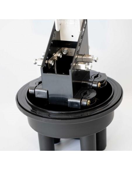 Heat Shrink Dome Closure for 24 splices /max 144 fibers/ MegaF - 7