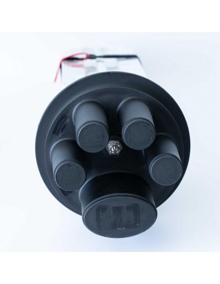 Оптична муфа за 144 влакна с В касета MegaF - 3