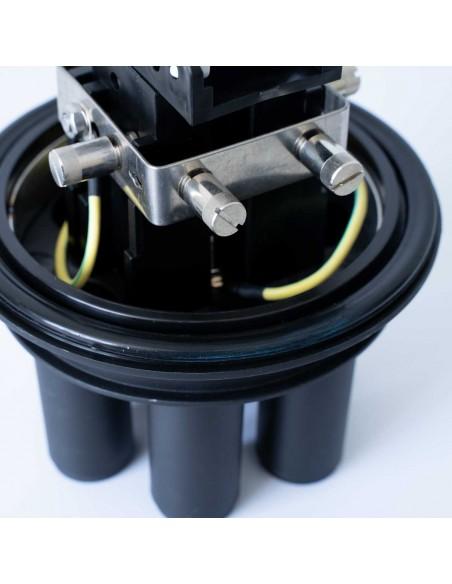 Оптична муфа за 144 влакна с В касета MegaF - 4