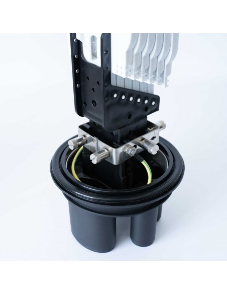 Heat Shrink Dome Closure for 144 splices with B tray MegaF - 5