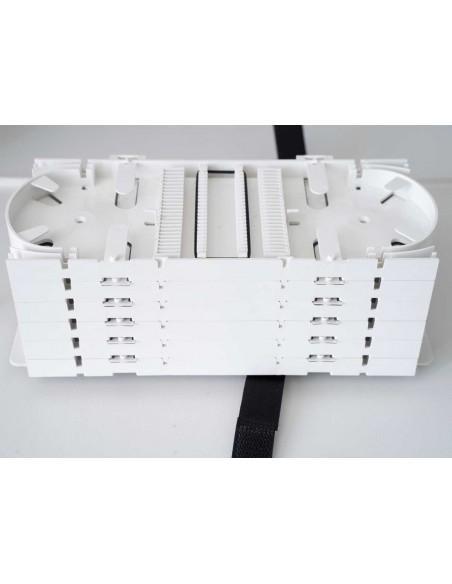 Fiber optic panel ODF 72 SC Duplex ports - 144 fibers 6U MegaF - 6