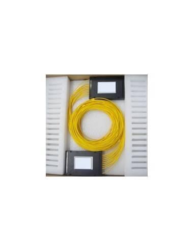 PLC fiber optic splitter 1x8 without connectors MegaF - 1